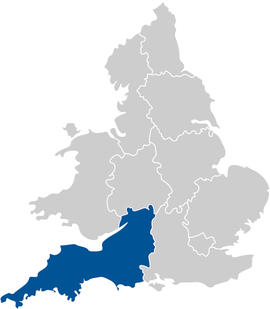 Based in Plymouth, we provide excellent customer care to clients in the South West Region including Devon, Cornwall, Torquay, Truro and Exeter